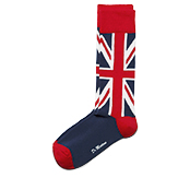 UNION JACK SHORT SOCK