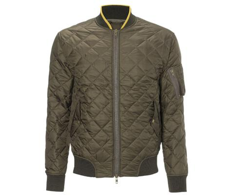 QUILTED BOMBER